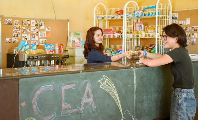 CEAのカフェ